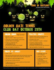 GGTC club day flyer