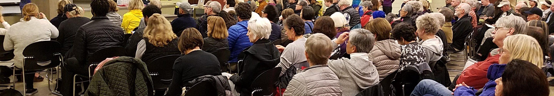 Jan. 10 community meeting audience